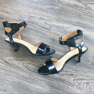 NINE WEST • Strap Sandal with Short Heel